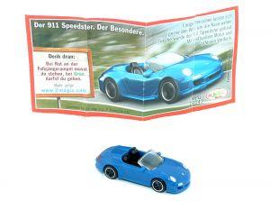 911 Speedster als Porsche Sportwagen von 2012  als Automodell Maßstab 1:87