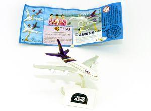 Airbus A380 Flugzeugmodell der Thai Airways (Star Alliance)