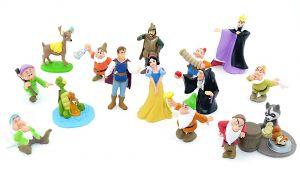 Schneewittchen Figuren Set von Albert Heijn aus den Niederlande - Holland (15 Figuren)