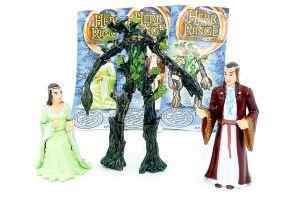 Alle drei HDR Figuren aus dem Kalender. Arwen - Elrond und Baumbart