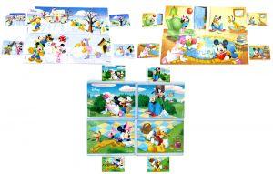 Superpuzzle Micky und Friends von Rübezahl und Koch mit 12 Puzzleecken und Bauanleitungen (Komplett - Superpuzzle)