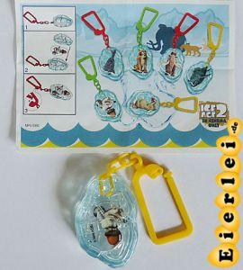 Anhänger von Scrat - ICE AGE 2 mit Beipackzettel