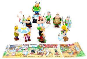 10 Asterix und Obelix Figuren aus dem Jahr 2000 Komplettsatz