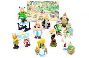 Komplettsatz Asterix und die Römer 2003 und Beipackzettel (Sätze Europa)