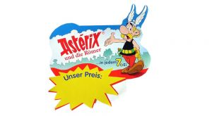 Palettenanhänger von Asterix und die Römer mit 8 Löchern