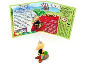 Asterix mit deutschen Beipackzettel (Asterix und die Wikinger)