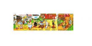 Asterix bei den Römern Beipackzettel zur Serie