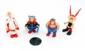 Satz Steckfiguren von Asterix 1981 (Alte Ü-Ei Figuren)