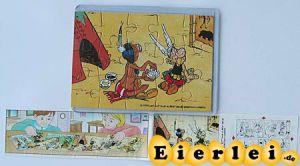 Puzzleecke Asterix in Amerika mit BPZ unten links (Puzzle)