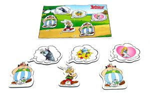 Set Asterix Magnete. Alle 6 Magneten von Asterix, Obelix mit Idefix und Falbala + ein Beipackzettel