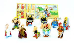 Asterix und die Vikings Komplettsatz mit 10 Beipackzettel [EU Satz]