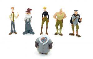 Figurensatz von Walt Disney Atlantis von Panini