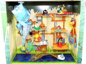 Angry Birds Diorama mit allen Figuren (Sommerei - Kinderjoy Merendero)