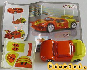 Sportwagen orange gelb (Spielzeug 2008)