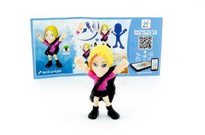 Avril Lavigne mit Beipackzettel von den TEEN IDOLS (SD693)