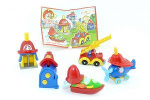Spielzeugsatz der Babyfeuerwehr (Die Baby Feuerwehr)