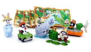 Baby Looney Tunes Figuren Set aus Italien von 2010 komplett