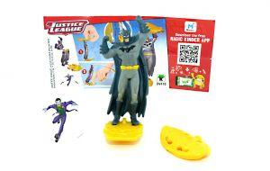 BATMAN von den Justice League mit Beipackzettel DV418