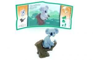 Koala Bär Figur von den Natoons mit Zettel [FT007]