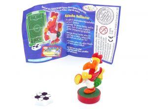Akhan Ballinstor mit Ball und deutschen Beipackzettel (Magic Sport)