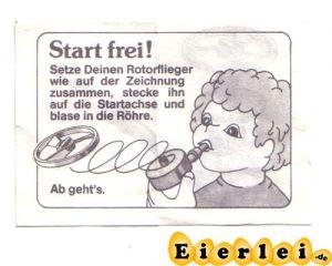 """BPZ / BAL """"Start frei"""" (Bermes Design)"""