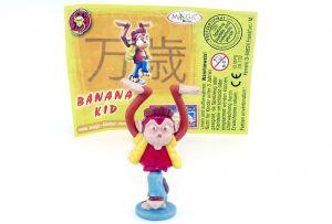 """Banana Kid, aus der Serie """"Zoff im Affenstall"""" mit Beipackzettel"""