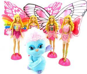 Satz Barbie Fairytopia aus dem XXL Ei von Ferrero (Gigante Maxi)