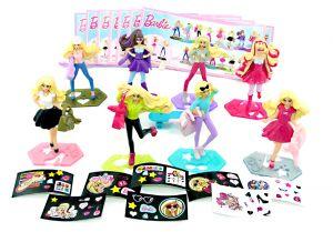 Figurensatz von Barbie 2016 mit Zubehör und allen neutralen Beipackzetteln