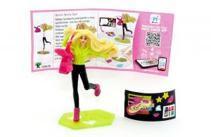 SPORTY GYM (SD578)  mit Zubehör [Barbie]