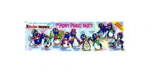 Beipackzettel von der Peppy Pingo Party von 1994