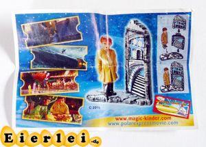 Einsamer Junge EU Beipackzettel (Polarexpress Ausland)