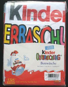 Ü-Ei Bettwäsche - Kinderino Überrasschungsei - 2 tlg. - NEU & OVP (HERDING )