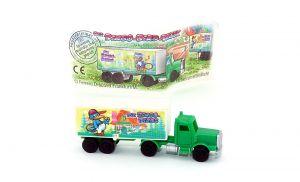 Truck der Bingo Birds mit Beipackzettel
