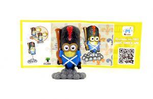 Napoleon Minion mit blauer Hose und Beipackzettel (Die MINIONS)