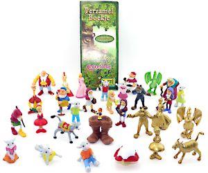 Märchenwald Figurensatz mit alle 25 Figuren + den 5 goldenen Varianten! [Firma EMTE aus Holland]