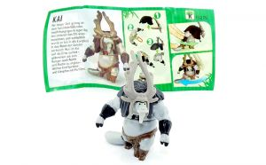 KAI mit deutschen Beipackzettel FS285 (Kung Fu Panda 3)
