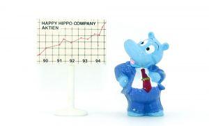 Happy Hippo Boss, Schild als Aufkleber (Ü-Ei Variante)