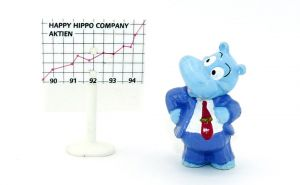 Happy Hippo Boss mit Schild (Happy Hippo Company)