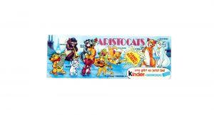 Beipackzettel von den Walt Disney Aristocats (Beipackzettel der Serie)
