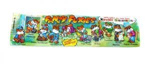Beipackzettel zur Serie Die Fancy Fuxies
