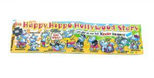 Happy Hippo Hollywood Stars Beipackzettel zur Serie