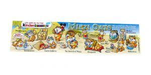 Beipackzettel zur Serie der Miezi Cats