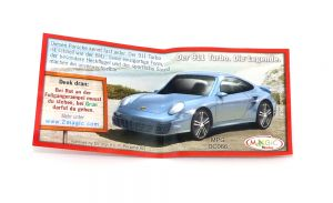 Der 911 Porsche Turbo (Beipackzettel)