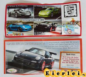 Der 911 GT3 RS - Porsche (Beipackzettel)