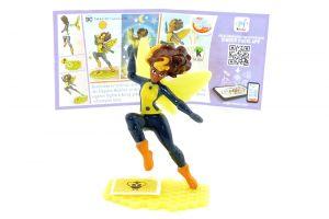 Bumblebee mit Beipackzettel von den DC Super Hero Girls