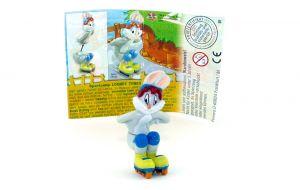 Bugs Bunny auf Rollschuhen mit Augenbemalung (Bugs Bunny)