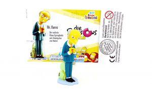 Mr. Burns mit deutschen Beipackzettel (The Simpsons)