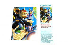 "Cybertops Puzzleecke ""oben links"" mit Beipackzettel"