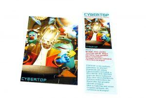 """Cybertops Puzzleecke """"unten links"""" mit Beipackzettel"""