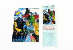 """Cybertops Puzzleecke """"unten rechts"""" mit Beipackzettel"""
